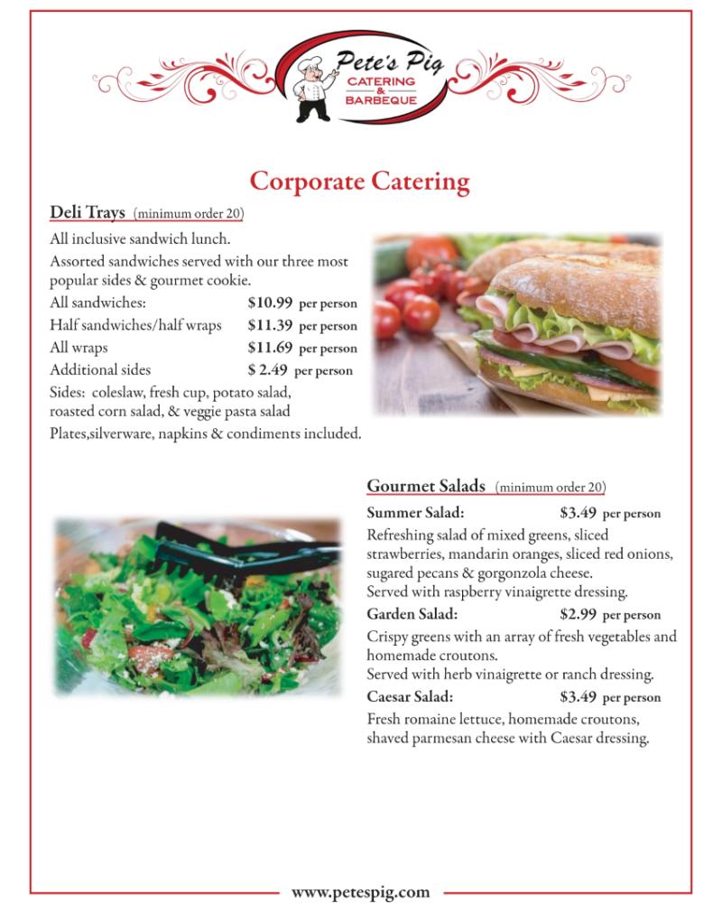 corporate menu page 3